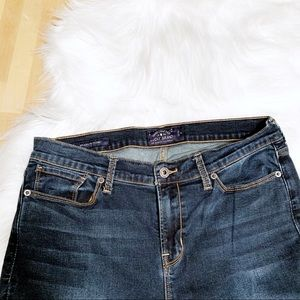 Lucky Brand Jeans - Lucky Brand Brooklyn Skinny Dark Wash Jeans Size12